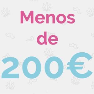 MENOS DE 200€