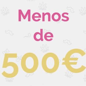 MENOS DE 500€